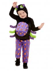 Disfraz de araña peluche niño