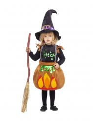 Disfraz pequeña bruja marmitón niña