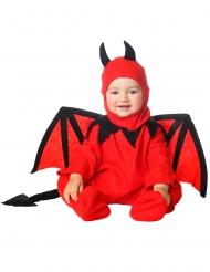 Disfraz diabolín con capucha bebé
