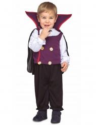 Disfraz pequeño conde vampiro bebé