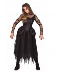 Disfraz señorita gótica mujer