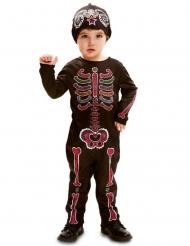Disfraz mono Día de los muertos bebé