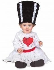 Disfraz novia de francky bebé