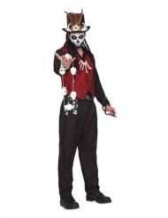 Disfraz brujo vudú hombre
