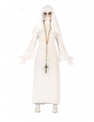 Disfraz fantasma monja mujer