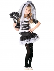 Disfraz novia de tinieblas niña