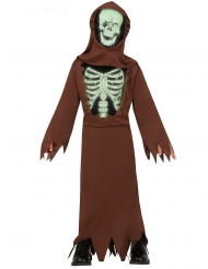 Disfraz monje esqueleto niño