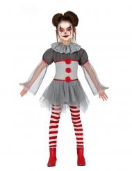 Disfraz payaso psicópata legging niña