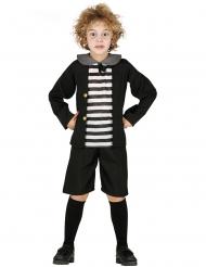 Disfraz fantasma colegial niño