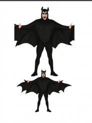 Disfraz murciélago adulto