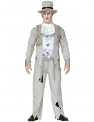 Disfraz novio fantasma hombre