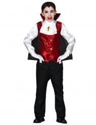 Disfraz conde vampiro niño