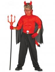 Disfraz diablo musculoso para Halloween