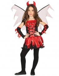 Disfraz diablesa con alas niña