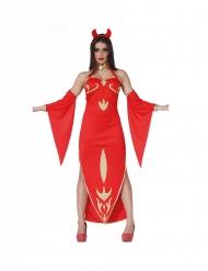 Disfraz linda diablesa mujer