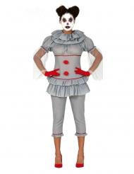 Disfraz payaso psicópata pantalón mujer