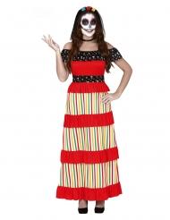 Disfraz de mexicana Día de los muertos mujer