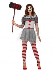 Disfraz payaso psicópata legging mujer