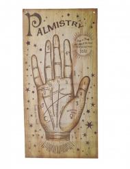 Cartel videncia mano de la fortuna 160 x 75 cm