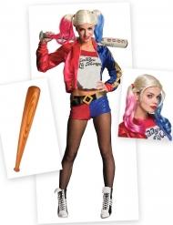 Kit disfraz y accesorios Harley Quinn mujer