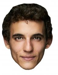 Máscara de cartón ladrón Miguel Herrán