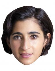 Máscara de cartón ladrona Alba Flores