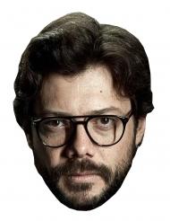 Máscara de cartón ladrón el Profesor