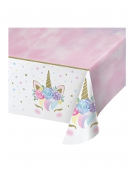 Mantel de plástico unicornio mágico 137 x 259 cm