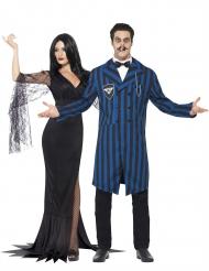 Disfraz de pareja familia gótica Halloween