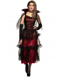 Disfraz vampiresa elegante mujer
