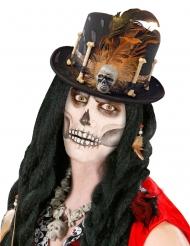 Sombrero de copa vudú adulto