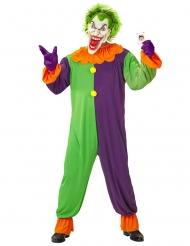 Disfraz arlequín psicópata adulto