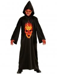 Disfraz diablo segador del infierno niño