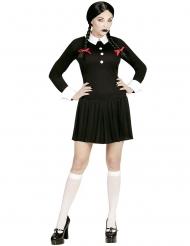 Disfraz colegiala gótica mujer
