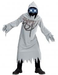 Disfraz fantasma encadenado niño