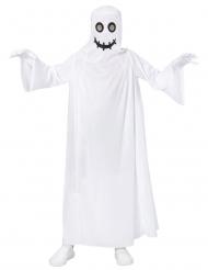 Disfraz fantasma blanco niño