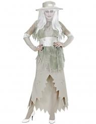 Disfraz mujer blanca mujer