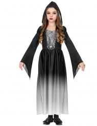 Disfraz gurú vampiro blanco niña