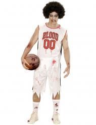 Disfraz jugador de basketbol zombie hombre