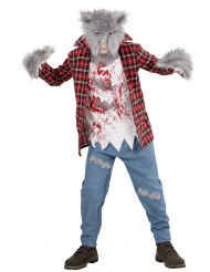 Disfraz hombre lobo peludo niño