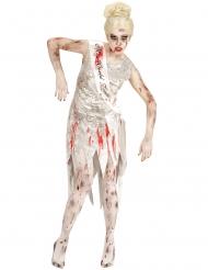 Disfraz miss mundo zombie mujer