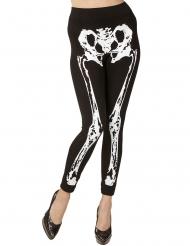 Legging esqueleto mujer