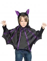 Poncho murciélago niño