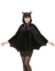 Poncho murciélago mujer