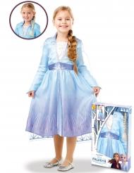 Disfraz y trenza Elsa Frozen 2 en caja para niña
