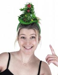 Diadema árbol de Navidad adulto