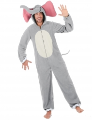 Disfraz elefante gris adulto