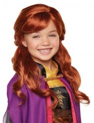 Peluca lujo Anna Frozen 2™ niña