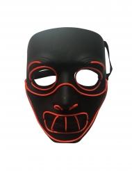Máscara LED lujo de loco para adulto
