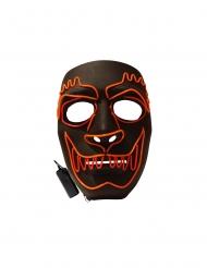 Máscara LED lujo hombre lobo adulto